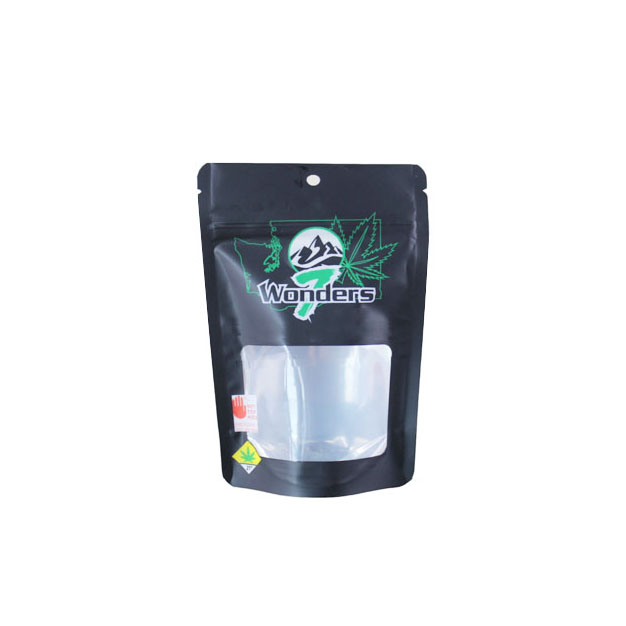 1g  Child Resistant Weed Packaging Mylar Bags