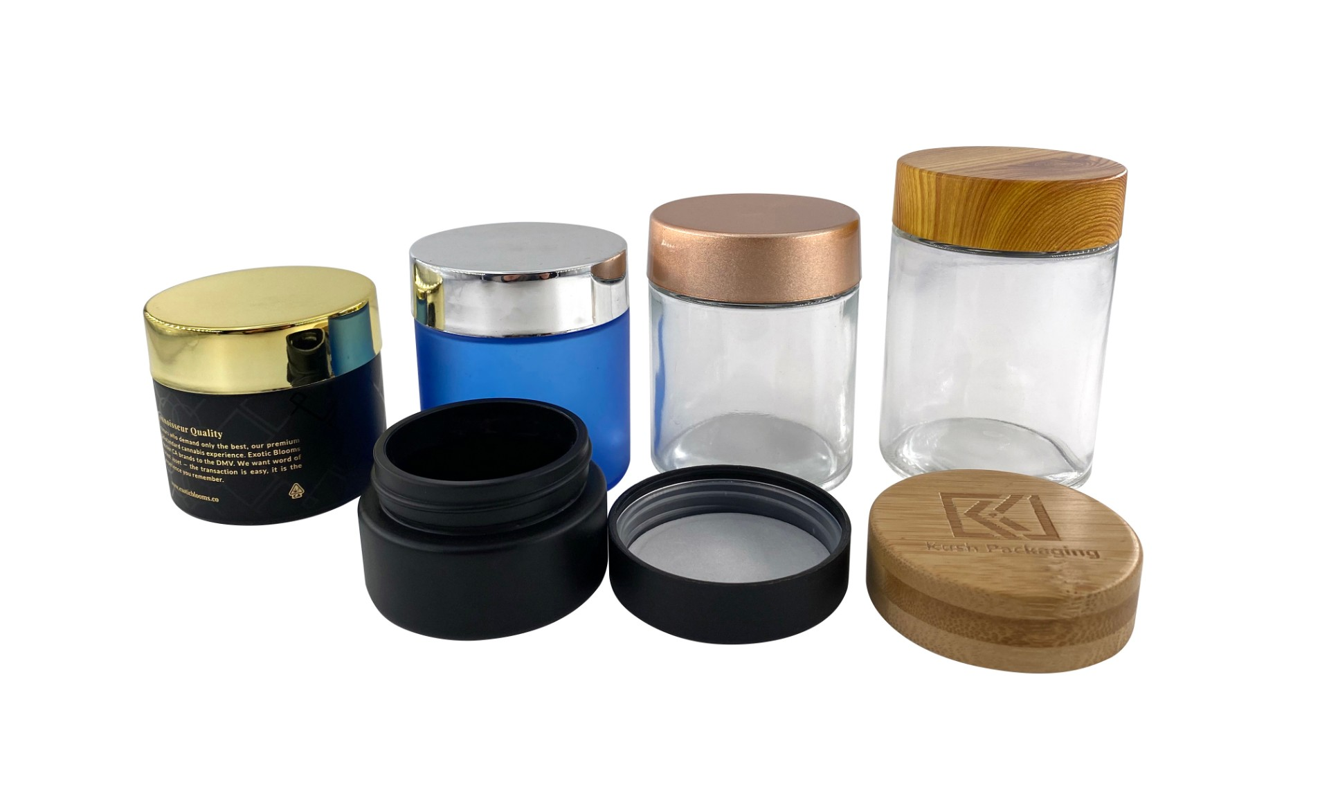 All kinds of packaging bottles