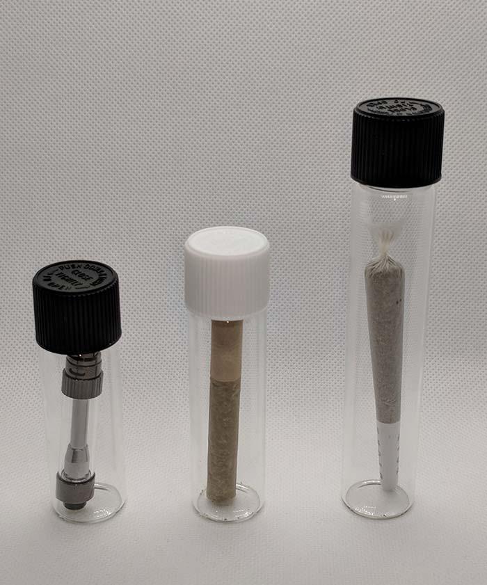Child Resistant Vape Cartridge Glass Tubes