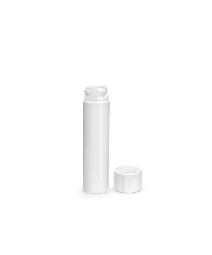White Child Resistant Vape Cartridge Plastic Tubes