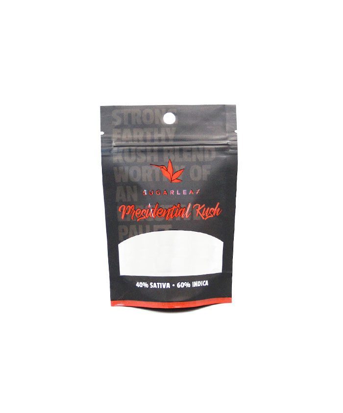 14g (1/2oz) Child Resistant Weed Packaging Mylar Bags
