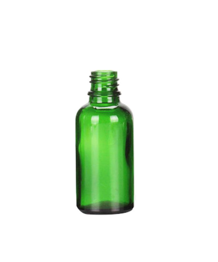 30ml Green Glass dropper tincture bottle