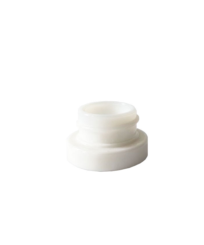 5ml Child Resistant White Glass concentrate Jars