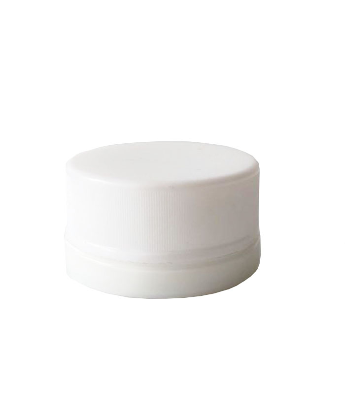 9ml  white Glass Jars with child resistant cap
