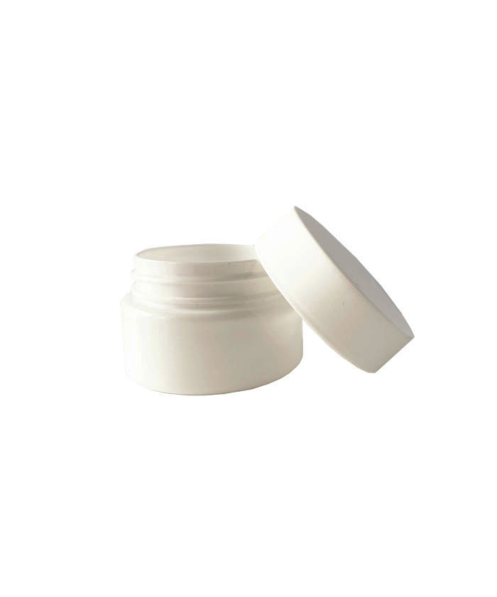2oz  White Child Resistant PET Plastic Jars