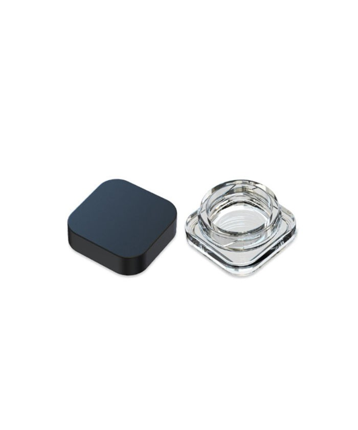 5ml Square Concentrate Glass Jar with CR lid