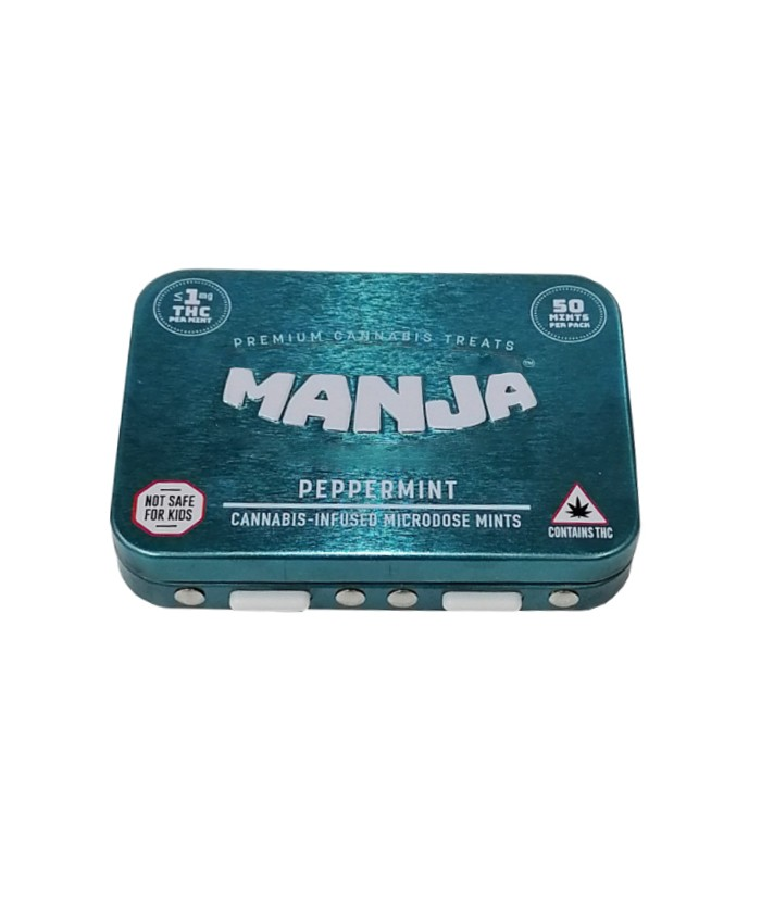 Child Resistant Edibles Tin Box