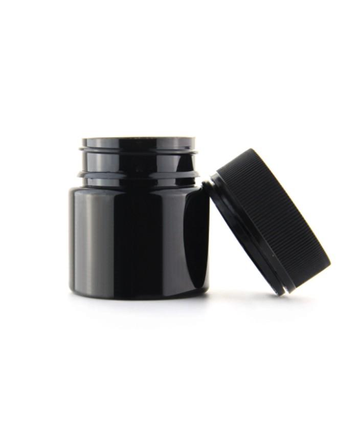 30dram child resistant PET jar with tamper evident