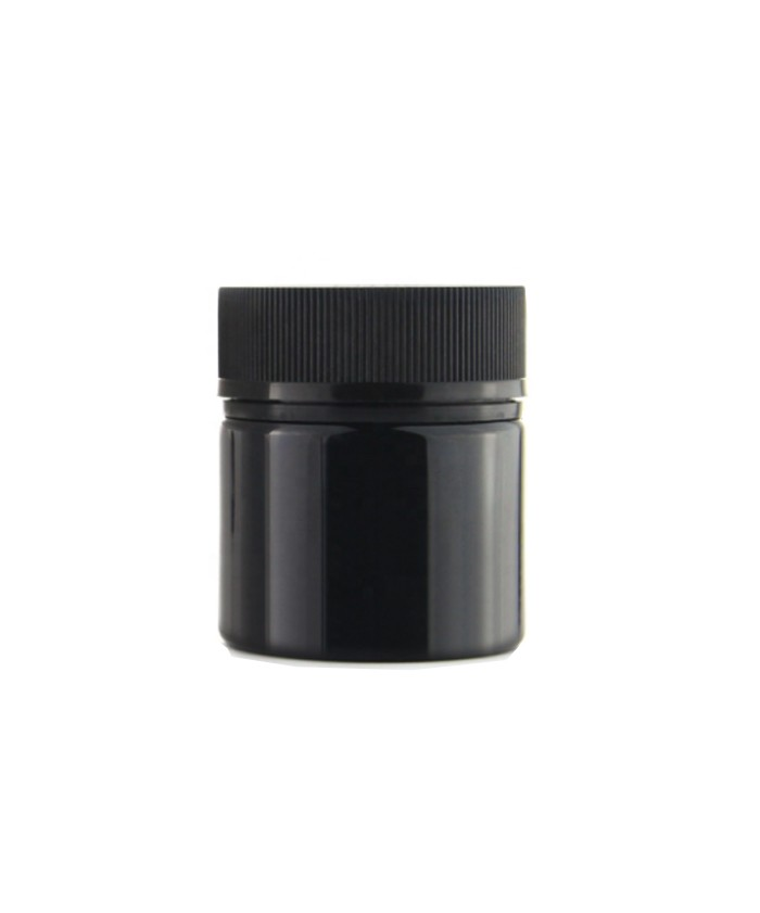 30dram child resistant PET jar with tamper evident