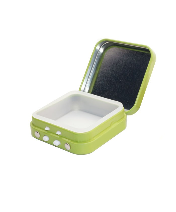 Child Resistant Square Tin box