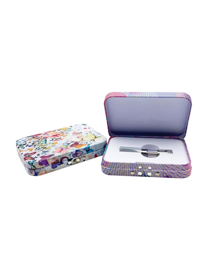 child resistant vape cartridge tinbox