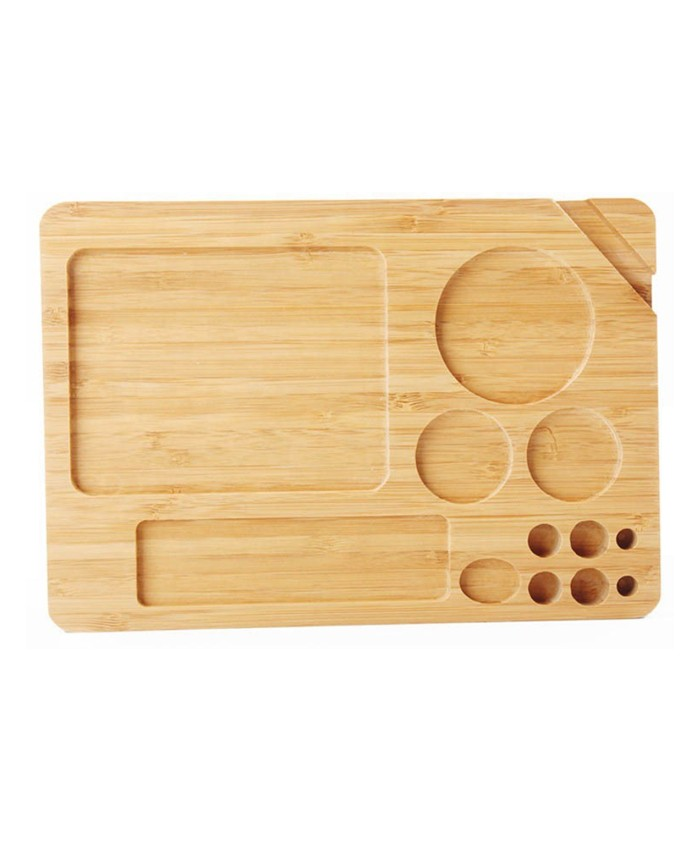 High quality bamboo wood rolling tray