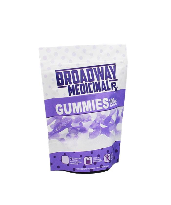 child resistant CBD gummy pouch bags