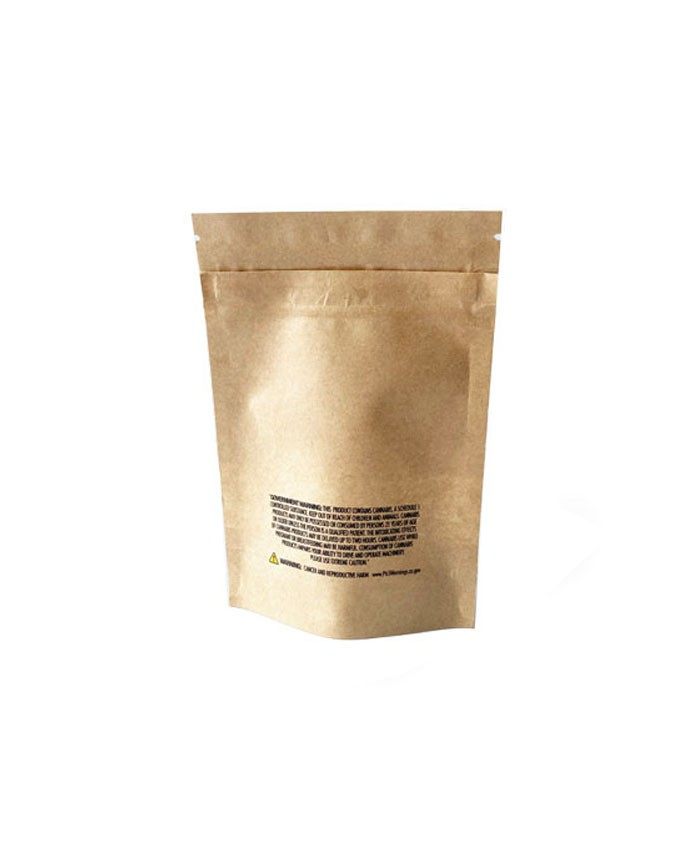 14g Kraft Paper Stand Up Pouch Packaging Bags